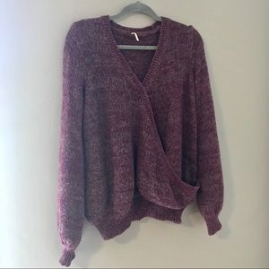 Free People Criss-Cross sweater